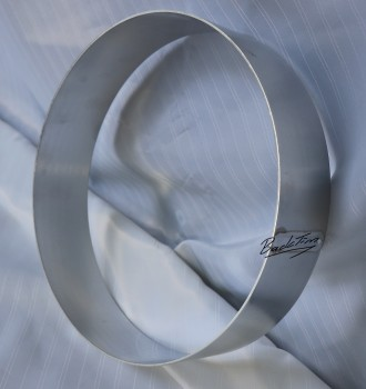 Cake ring made of aluminum ØxH: 260 x 60 mm NEW