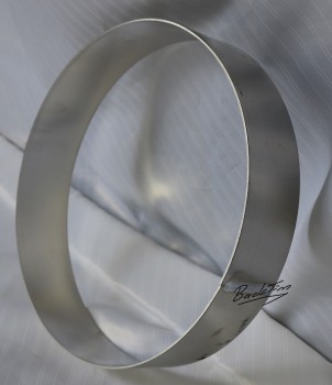 Cake ring made of aluminum ØxH: 200 x 60 mm NEW