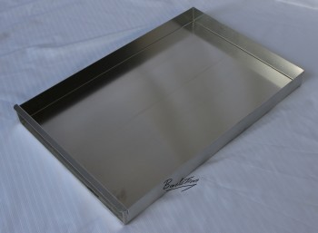 Baking tray / baking sheet with attachment rail approx. 40 x 58 x 5 cm NEW