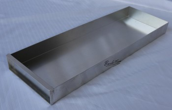 Baking tray / baking sheet with attachment rail approx. 20 x 58 x 5 cm NEW