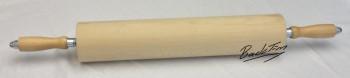 Teigroller  Rollholz mit Holzgriffen 450 mm