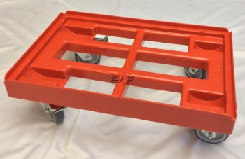 Transport trolley Transport trolley for boxes 60 x 40 cm with 2 brakes