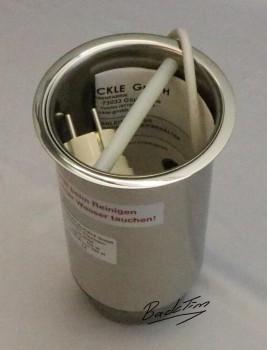 Tortenmesser-Abstreichbehälter zum Einbau in Theken Nr. 2228 NEU!