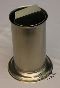 Tortenmesser-Spül- und -Abstreichbehälter mit Wasserschiff Nr. 228 NEU!