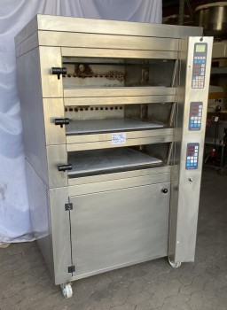 Multi-storey baking oven Friedrich 3 floors
