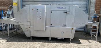 Continuous washing system Box washing system Kitzinger