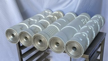 Pastry molding machines form rollers