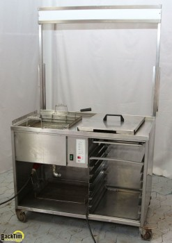 Fat baking station ROKA Model: SB 20 B- E