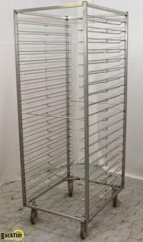Freezer cart stainless steel