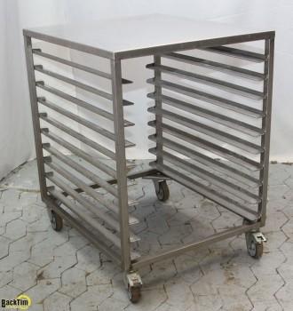 Glasiertisch / Tischwagen