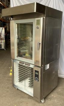 In-store oven Wiesheu B8E2