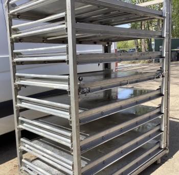 Puller feeder DAUB Heuft Hein thermal oil oven