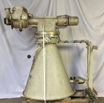 Silo Mehlsaugmotor und Mehltrichter