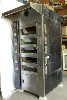 Deck oven Bakery oven Continuous oven Wachtel Piccolo 1-5