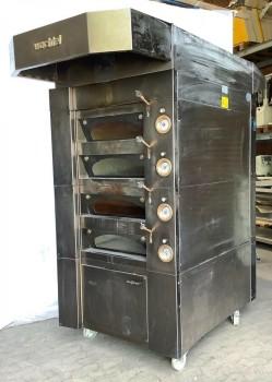 Bakery oven deck oven Wachtel Piccolo 1-4 D