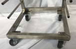 Sprout trolley / tray trolley / transport trolley stainless steel NEW
